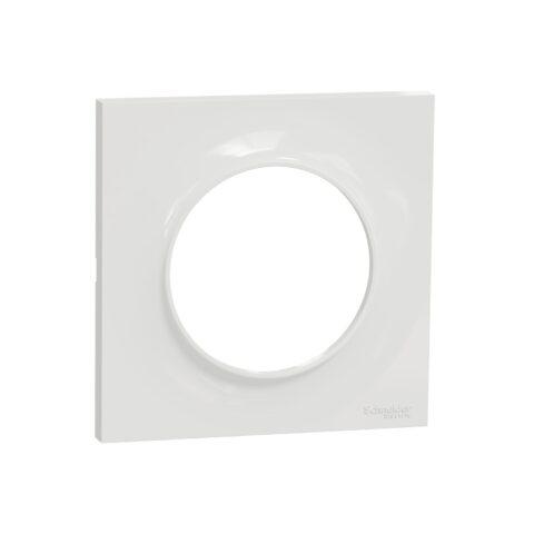 SCHNEIDER Odace Styl Plaque 1 poste blanc - S520702