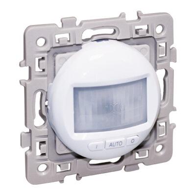 Détecteur 3 Fils avec neutre Square 1 poste - 300W - Blanc - 60222