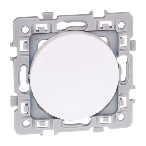 Obturateur 1 poste - Square - Blanc - 60276