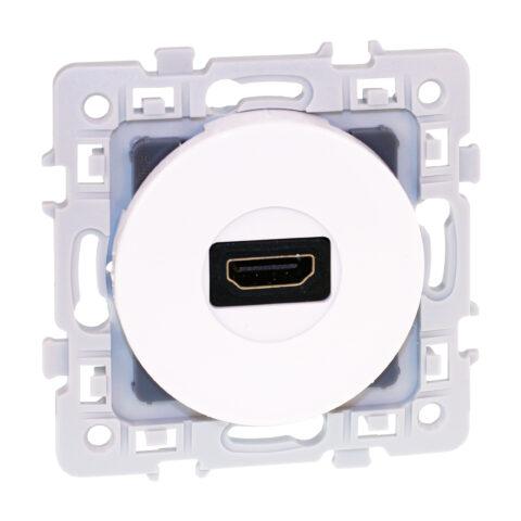 Prise HDMI 1.4 Square - Blanc - 60280