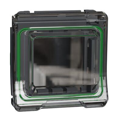 Adaptateur pour fonction 45X45 IP55 IK06 - Gris - Mureva Styl -MUR35110