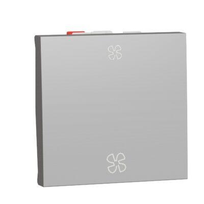Schneider Interrupteur Aluminium pour VMC Unica -10A -NU320330VMC