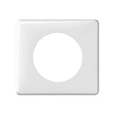 LEGRAND Céliane Plaque simple Yesterday blanc - 066631