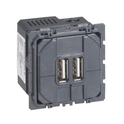LEGRAND Céliane Prise USB double 2400 mA - 067462