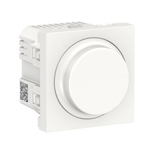 Schneider Variateur universel Blanc -Unica - Rotatif - NU351418