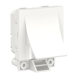 Schneider Sortie de câble Blanc ø6 à 12mm - 16A - Blanc -NU386218