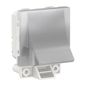 Schneider Sortie de câble Unica - ø6 à 12mm - 16A - Aluminium -NU386230