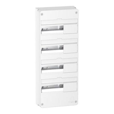 Resi9 - Coffret en saillie Blanc (RAL 9003)- 4 rangées de 13 modules-min