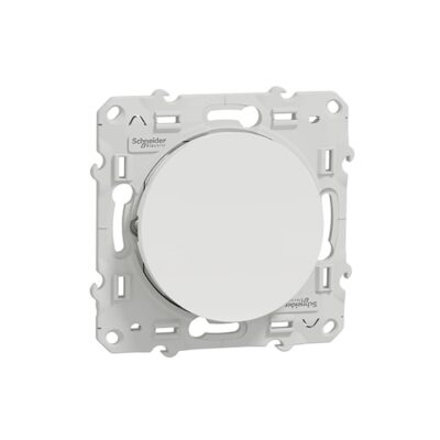 Schneider Odace Interrupteur va et vient Blanc -10 A - S520204