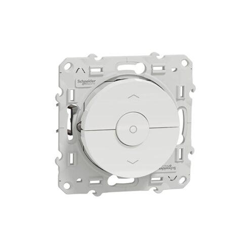 SCHNEIDER Interrupteur volet-roulant blanc - Odace - S520208