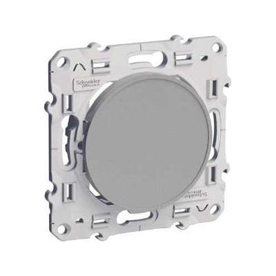 CHNEIDER Odace Obturateur aluminium