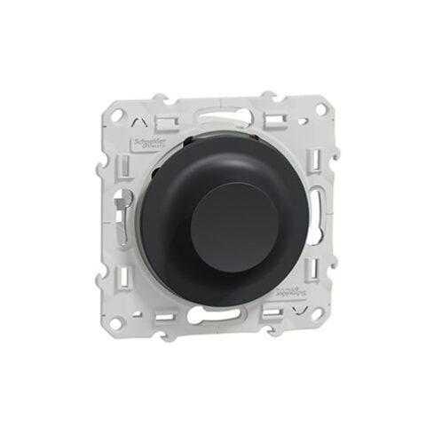 Odace Interrupteur variateur LED Anthracite - S540512