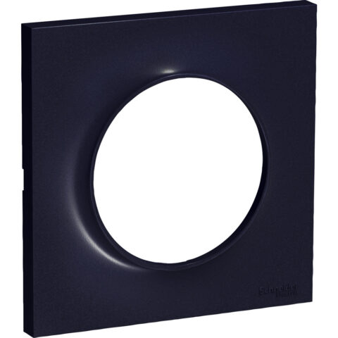 Plaque simple anthracite Odace Styl - S540702