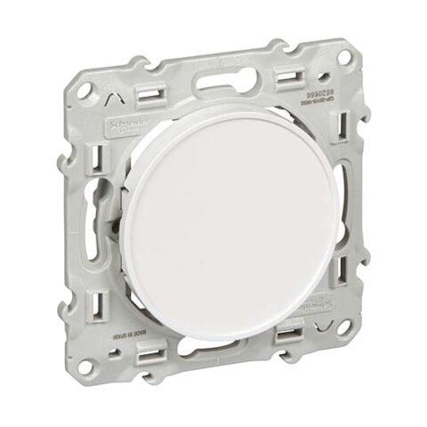 SCHNEIDER Odace Obturateur blanc - S520666