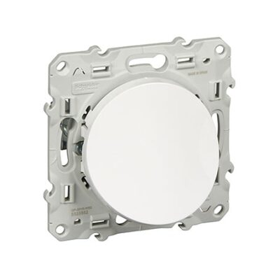 SCHNEIDER Odace Sortie de câble blanc - S520662