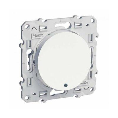 SCHNEIDER Poussoir lumineux Odace - Blanc -S520276
