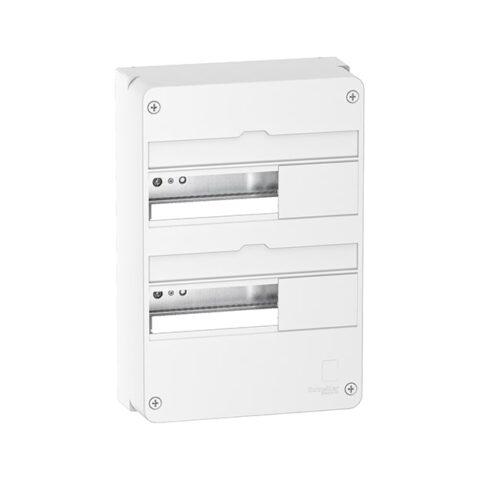 SCHNEIDER Tableau électrique nu 2 rangées 13 modules - R9H13402-min