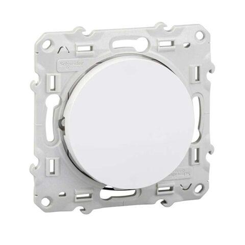 SCHNEIDER Va-et-vient lumineux Odace - Blanc -S520263-min