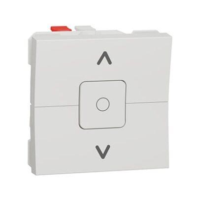 Schneider Inter volet-roulant - 3 touches - 6A - 2 mod - Blanc anti -NU320820-min