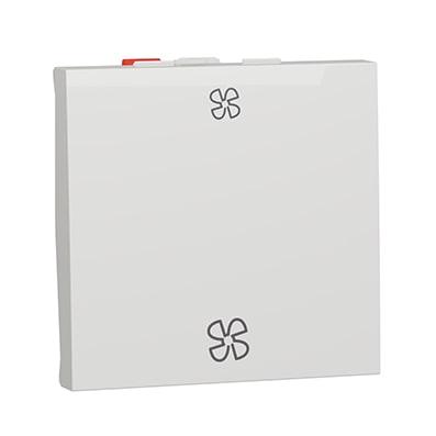 Schneider Interrupteur pour VMC Blanc-antimicrobien 10A - NU320320VMC-min