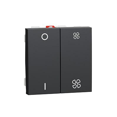 Schneider Interrupteur pour VMC Unica - 10A - Avec arrêt -NU321454-min