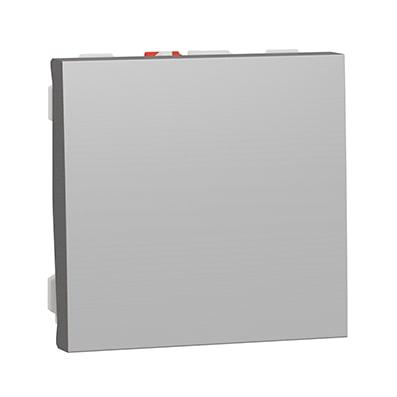 Schneider bouton-poussoir Aluminium NO - 10A -NU320654