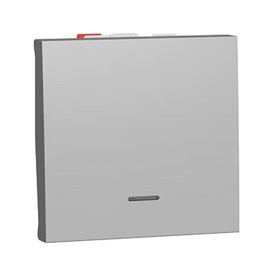 Schneider va-et-vient Aluminium lum témoin - 10A -NU320330S