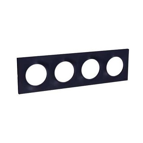 Plaque 4 Postes Odace Styl - Anthracite - S540708