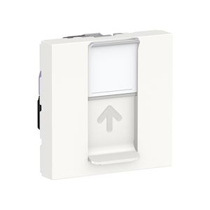 Schneider Prise RJ45 Blanc Unica Cat.6 STP - 2 modules - NU341718