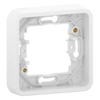 Cadre 1 poste blanc encastré ip55 ik08 mureva styl schneider - MUR39107