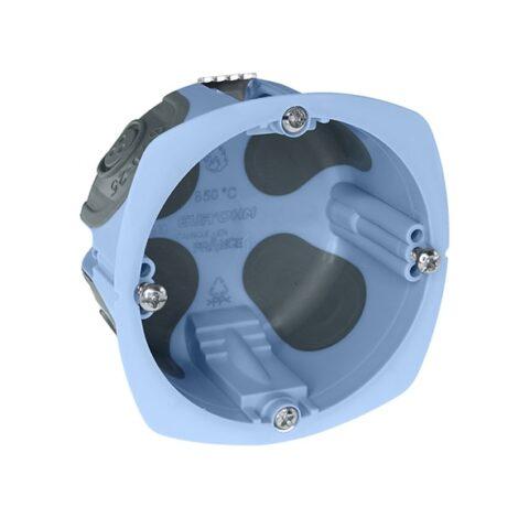 Boîte d'encastrement 1 poste - prof. 40mm