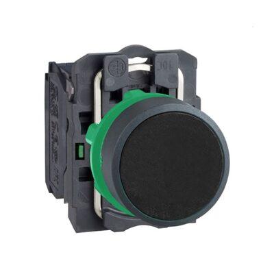 Harmony XB5 - bouton poussoir à impulsion - Ø22 - noir - 1F - vis étrier