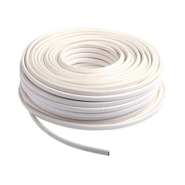 Câble souple H05VV-F 3G0.75MM² blanc – (50 mètres)