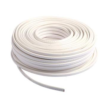 Câble souple H05VV-F 4X2.5mm² blanc