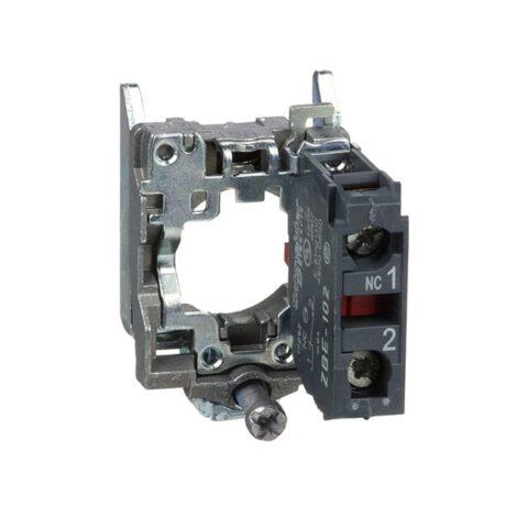 Harmony XB4 - corps de bouton - 1O - raccordement vis-étrier-min