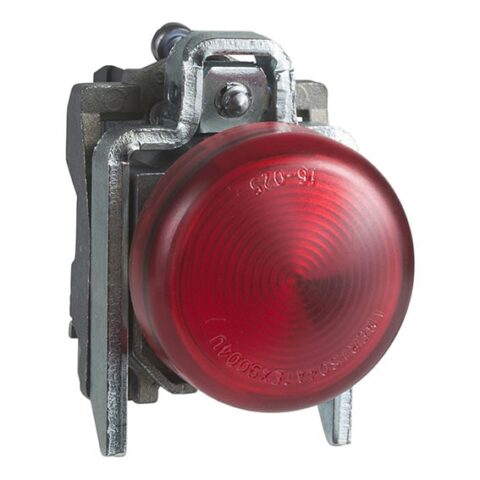 Harmony XB4 - voyant lumineux BA9s - Ø22 - rouge - direct 250V max - vis étrier-min (1)