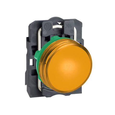 Harmony XB5 - voyant lumineux DEL - Ø22 - orange - 230V - vis étrier-min
