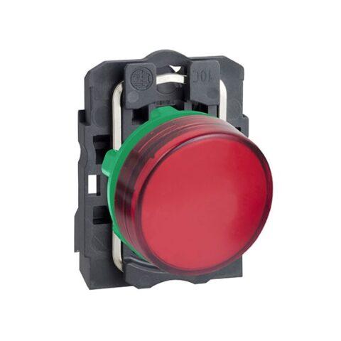 Harmony XB5 - voyant lumineux DEL - Ø22 - rouge - 24V - vis étrier-min