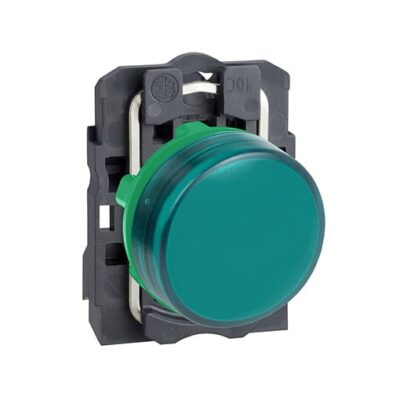 Harmony XB5 - voyant lumineux DEL - Ø22 - vert - 24V - vis étrier-min