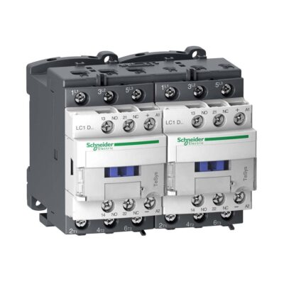 Schneider LC2D32B7-Contacteur inverseur -3P -AC-3 440V - 32A - bobine 24Vca