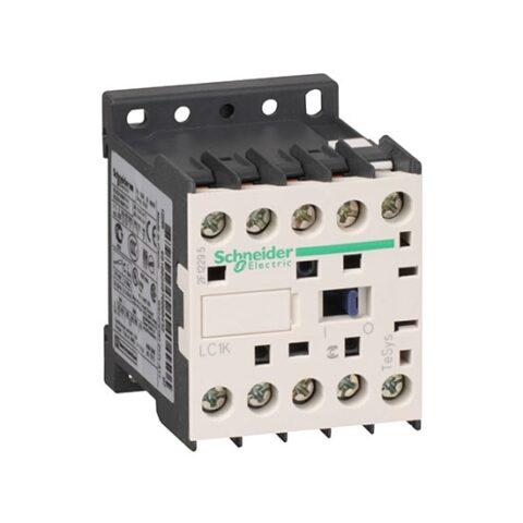 Contacteur 3P AC-3 440V - 6A - bobine 24Vca - LC1K0610B7