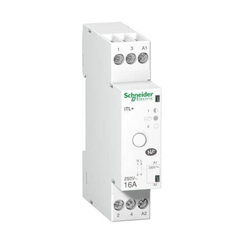 SCHNEIDER Télérupteur silencieux iTL+ 1P 16A 230V - A9C15032-min