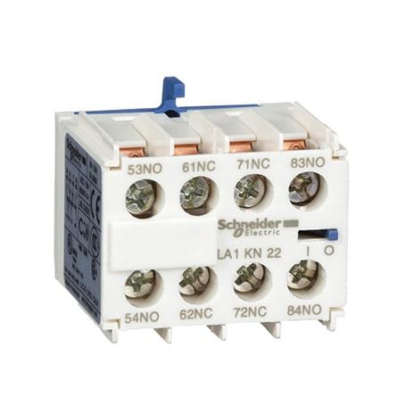 Schneider Bloc de contacts auxiliaires 2F+2O -LA1KN22