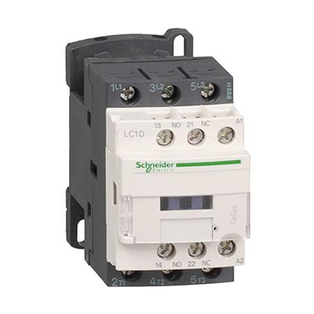 Schneider Contacteur 3P -AC-3 440V -9A - bobine 48Vca -LC1D09E7