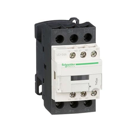 Schneider Contacteur 3P AC-3 440V-25A - bobine 24Vca -LC1D25B7-