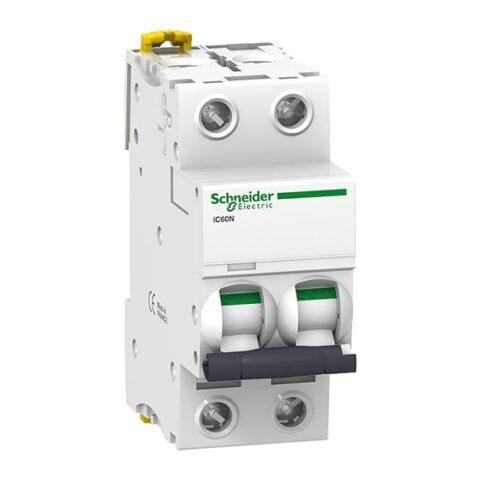 Schneider Disjoncteur 2P 40A courbe C - iC60N -A9F74240