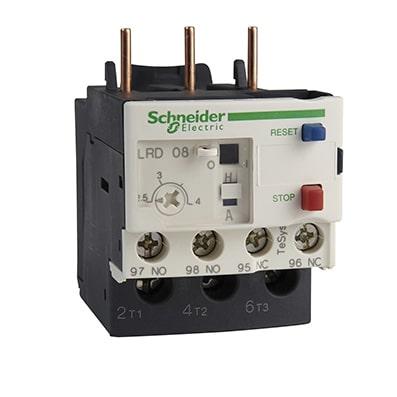 Schneider relais de protection thermique -5,5->8A - classe 10A -LRD12