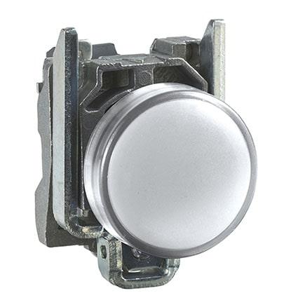 Schneider XB4BVB1-Harmony XB4 – voyant lumineux DEL -Ø22 -blanc -24V-min (1)
