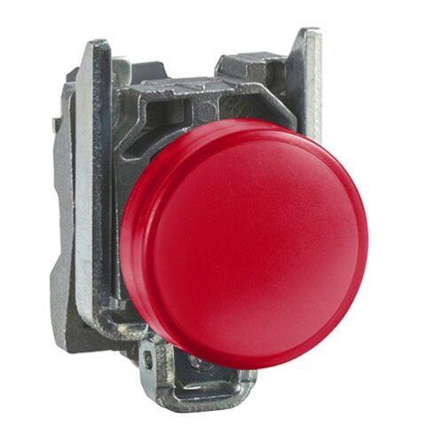 Schneider XB4BVB4-voyant lumineux DEL – Ø22 – rouge – 24V-min
