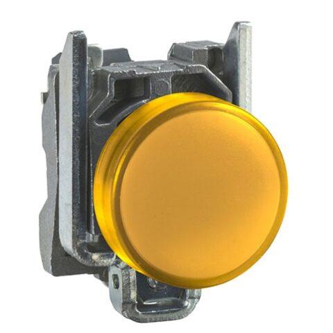 Schneider XB4BVB5- voyant lumineux DEL – Ø22 – orange – 24V – vis étrier-min